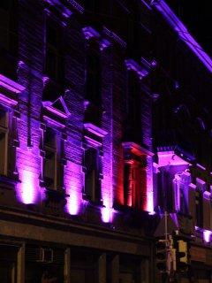 Lichtinstallation Fassoth