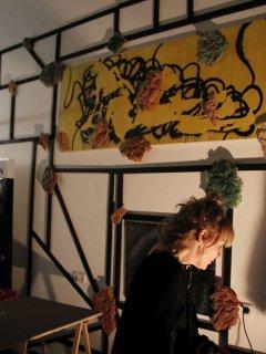 Ausstellung im Cutwork