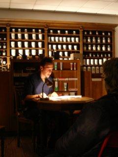 Lesung in der Neckarapotheke