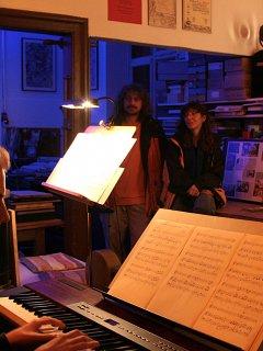 Musiker Buchbinderei