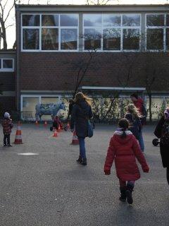 Kettcar-Parcours der Polizei